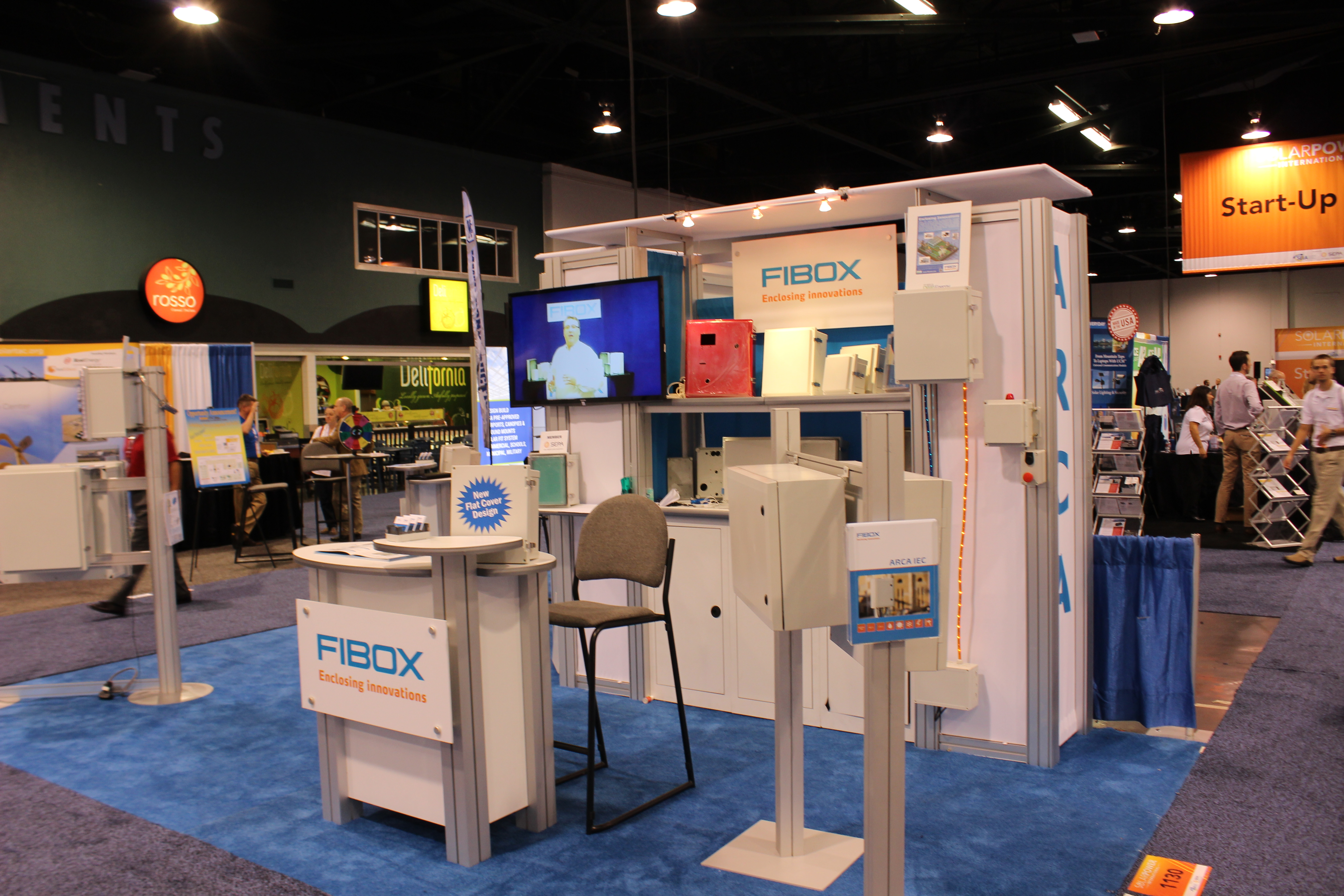 Fibox takes the stage at Solar Power international 2015