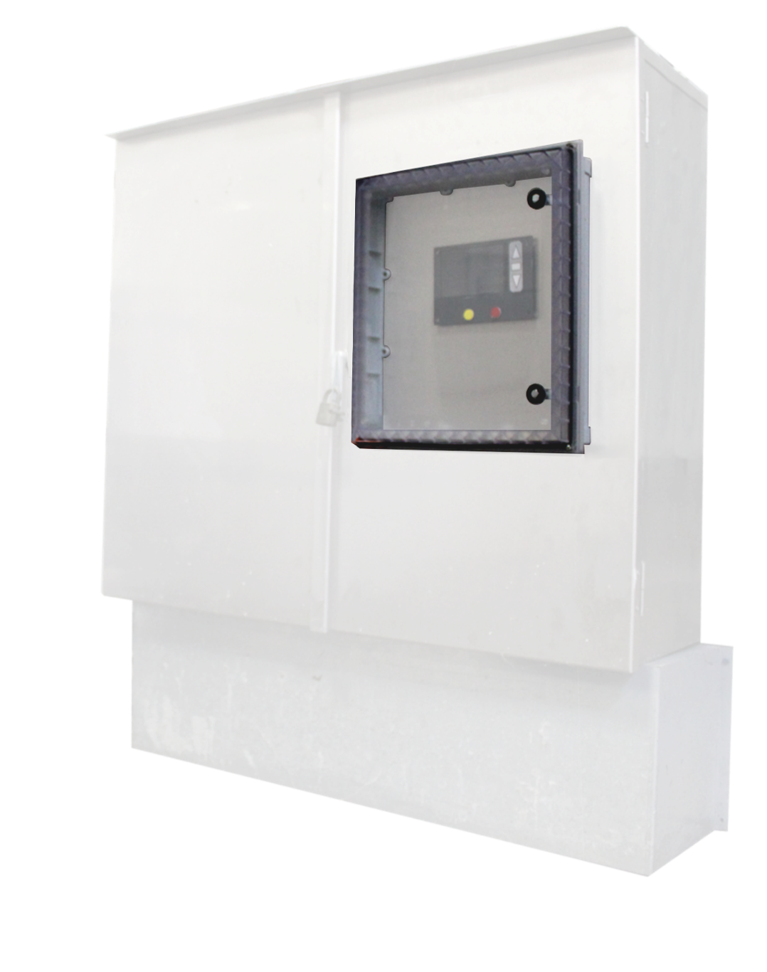 The UL listed IPW can be mounted over any underlying cabinet