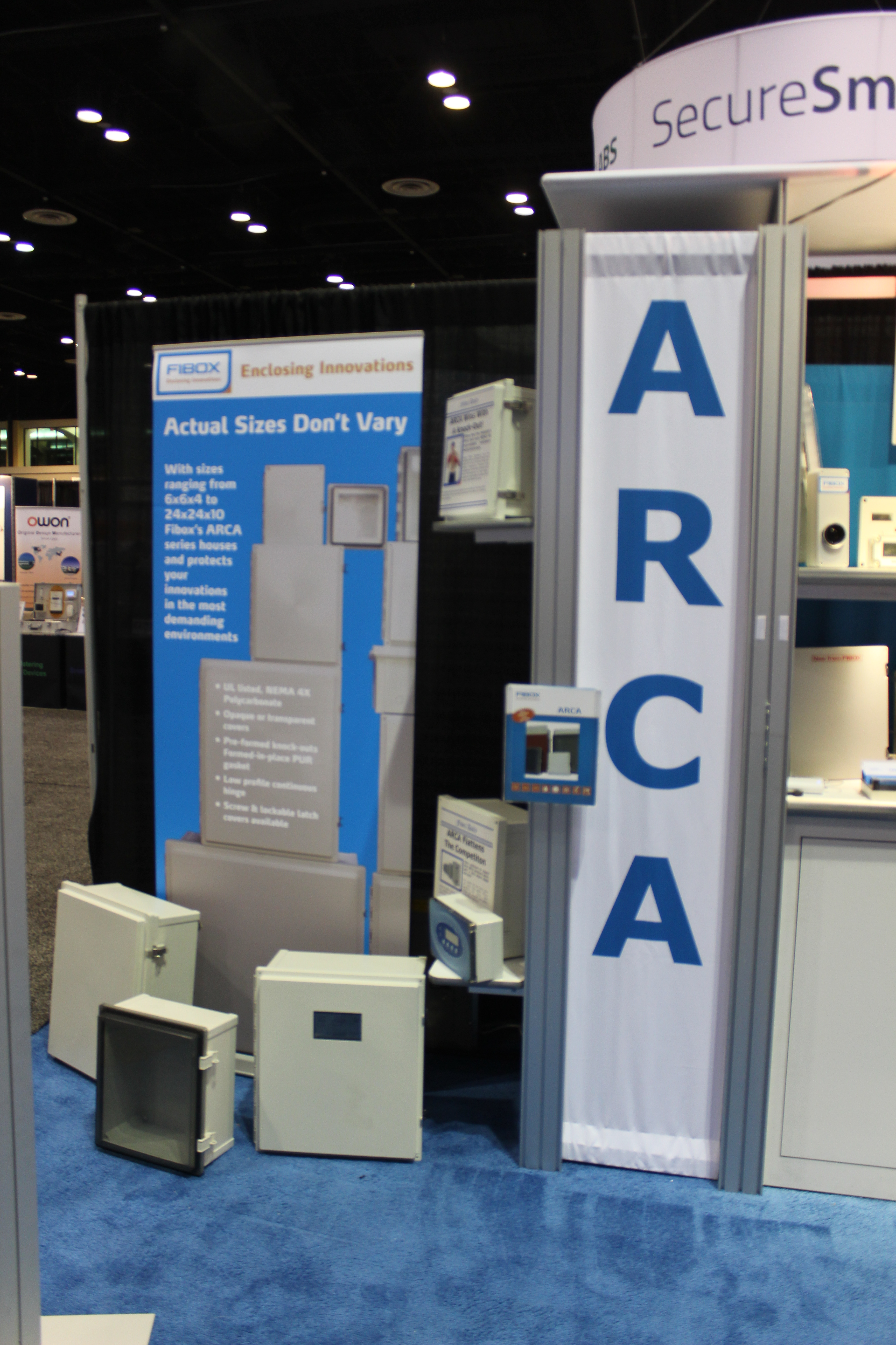 ARCA and ARCA IEC are the largest polycarb boxes out there