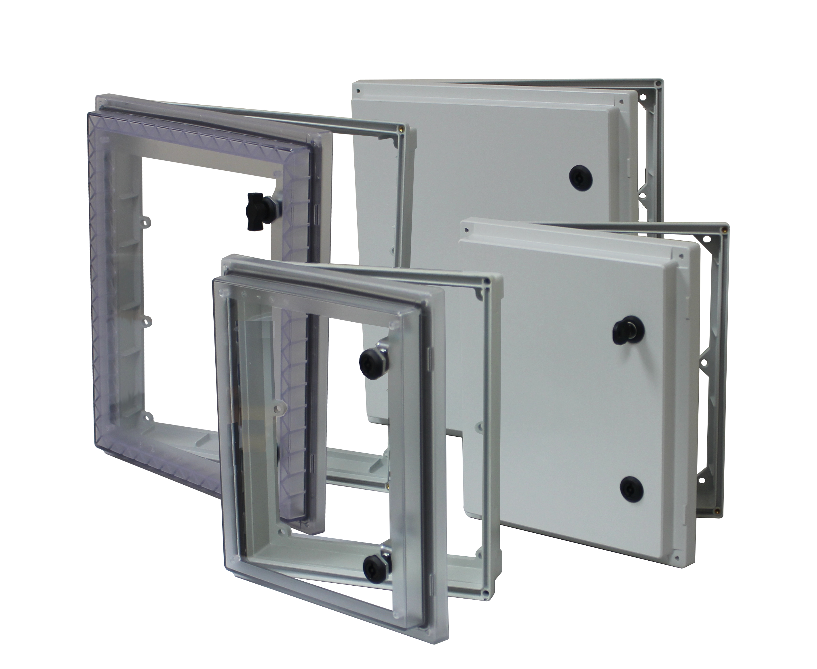 UL listed HMI cover sized 12x10 and 16x14 Opague or transparent