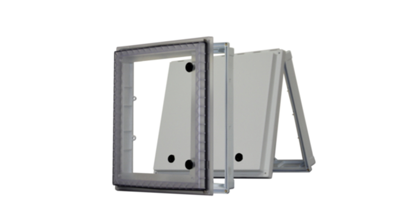 UL listed NEMA 4X protection windows