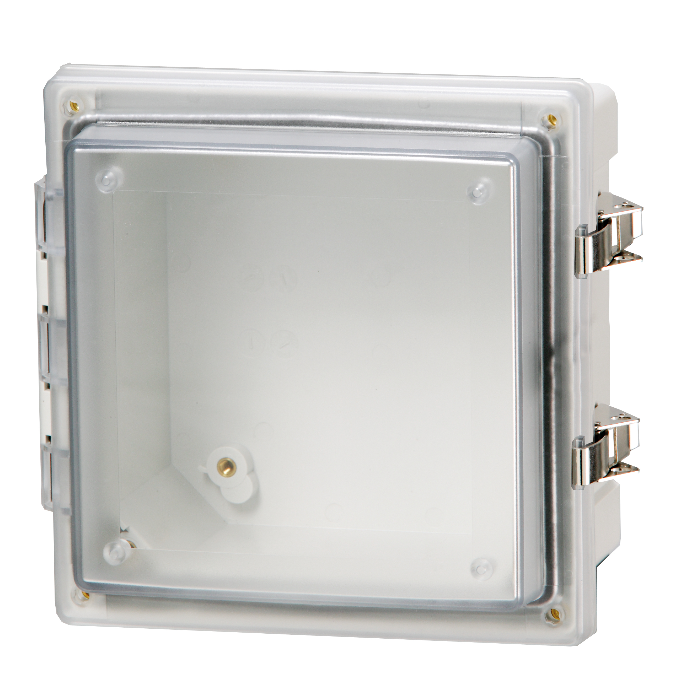NEMA hinged clear cover enclosure