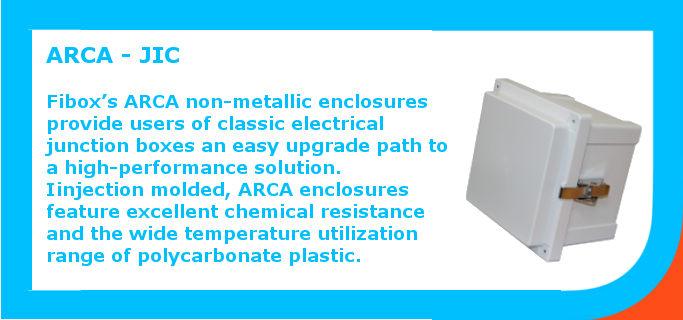 Non-metallic enclosures