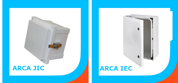 Small and large NEMA enclosures
