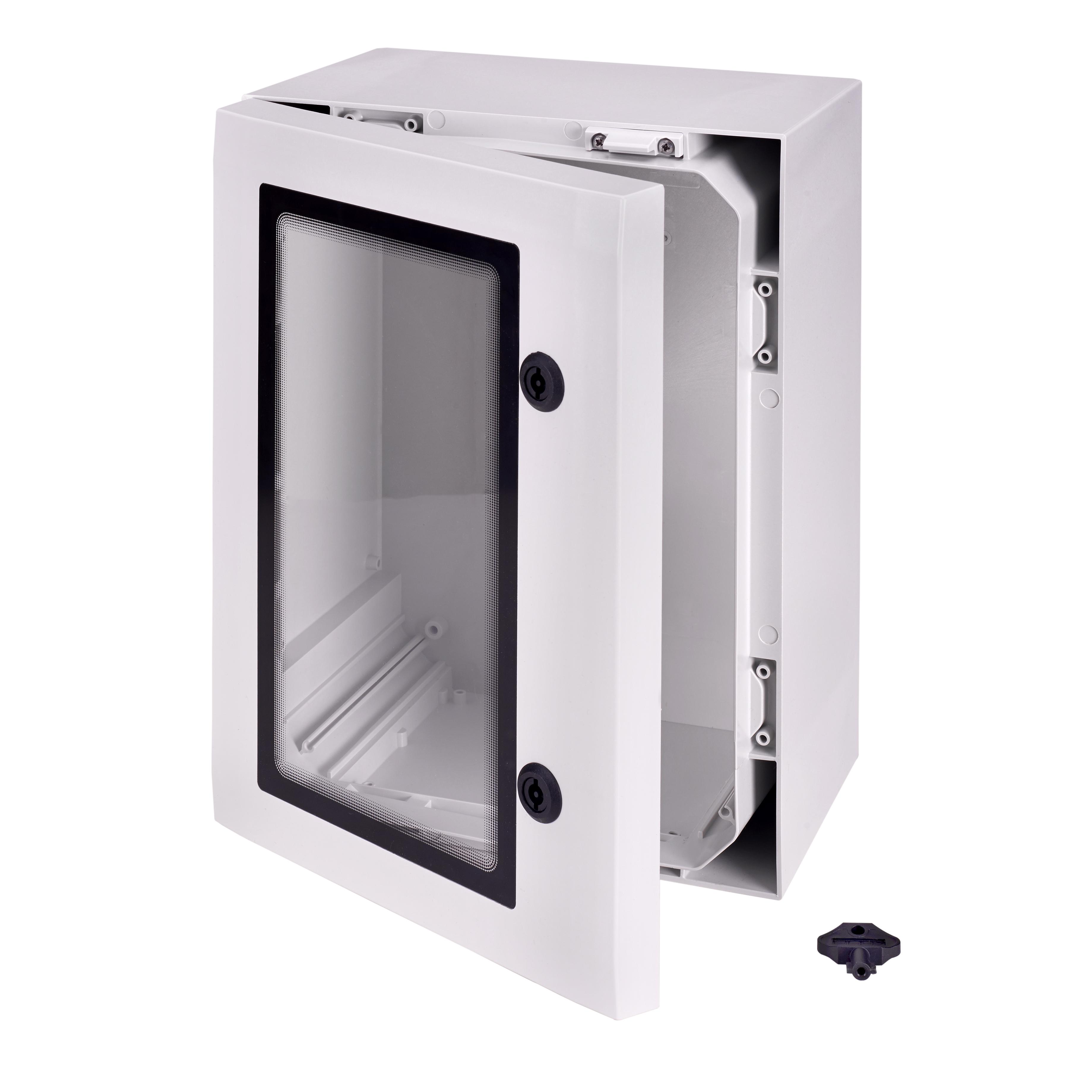 lockable wall mounted enclosure