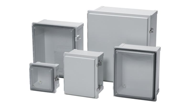 Nema 4 non-metallic electrical enclosures