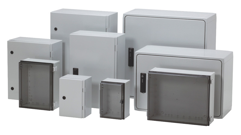 Polycarbonate Cabinet Enclosure Rated Nema 4x Fibox Non