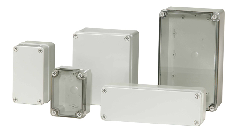 enclosure for push buttons, enclosure for terminal blocks, enclosure for motor starters; enclosure forelectronic devices enclosure for process control sensors and switches