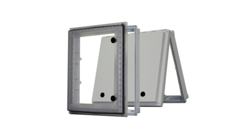 UL listed NEMA 4X protection windows