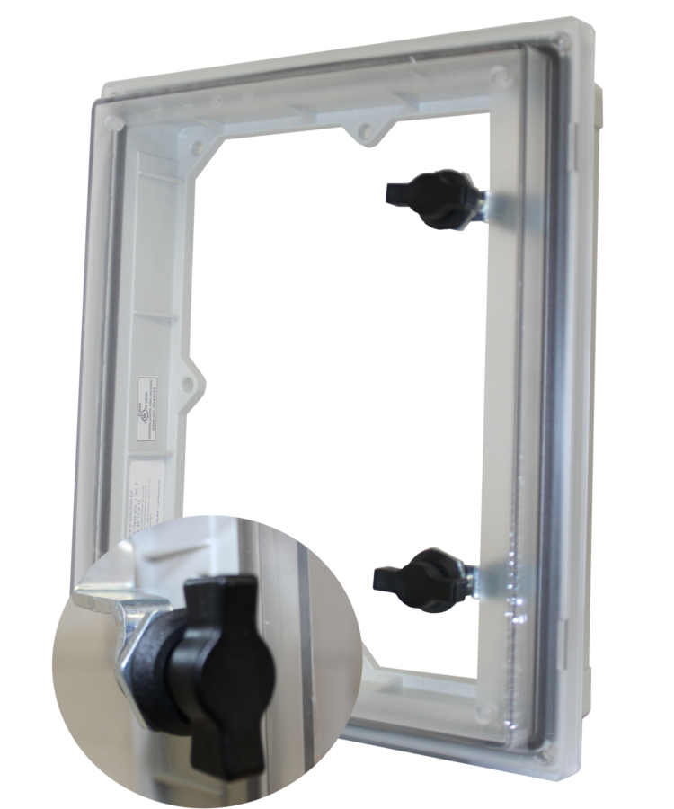 lockable nema inspection window