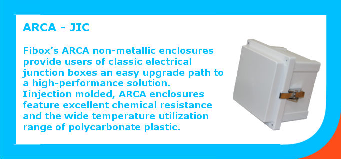 Non-metallic enclosures